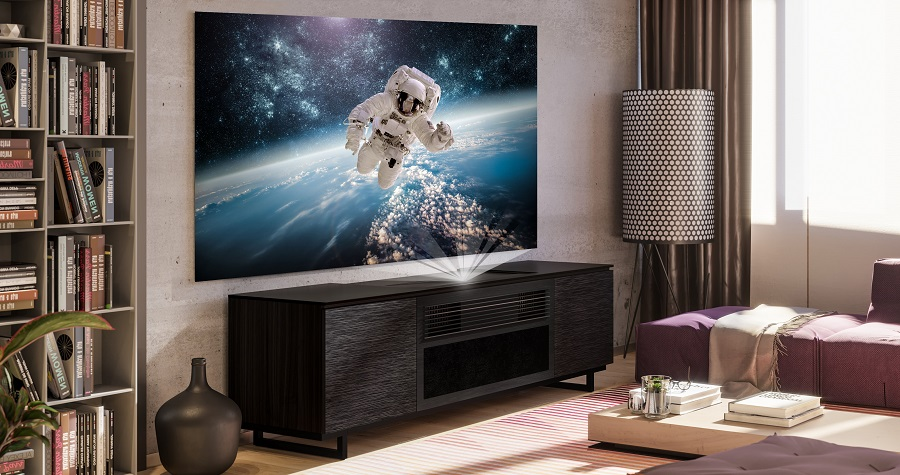 How to Get Big Projector Screen Entertainment in a Small Space